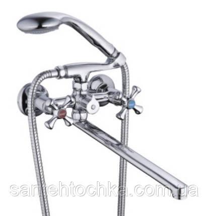 Cмеситель для ванны Zegor DST7 - 827 картр/п  (WKF 2020, 3-х поз), фото 2
