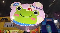 Детская шкатулка с зеркалом жабка