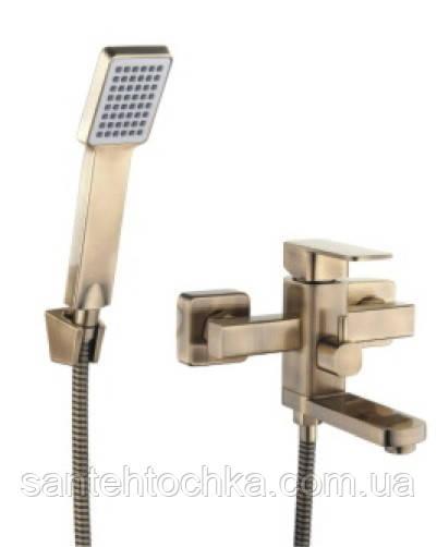 Смеситель для ванны Zegor LEB3-А-KT123