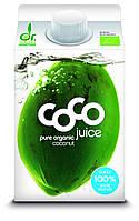 Органическая кокосовая вода натуральная, Dr. Martins, 500 мл