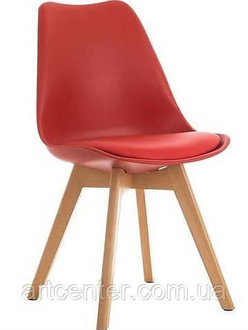 Стул для офиса, стул для дома, стул для посетителей, стул черный с мягким сиденьем (ТОР красный)