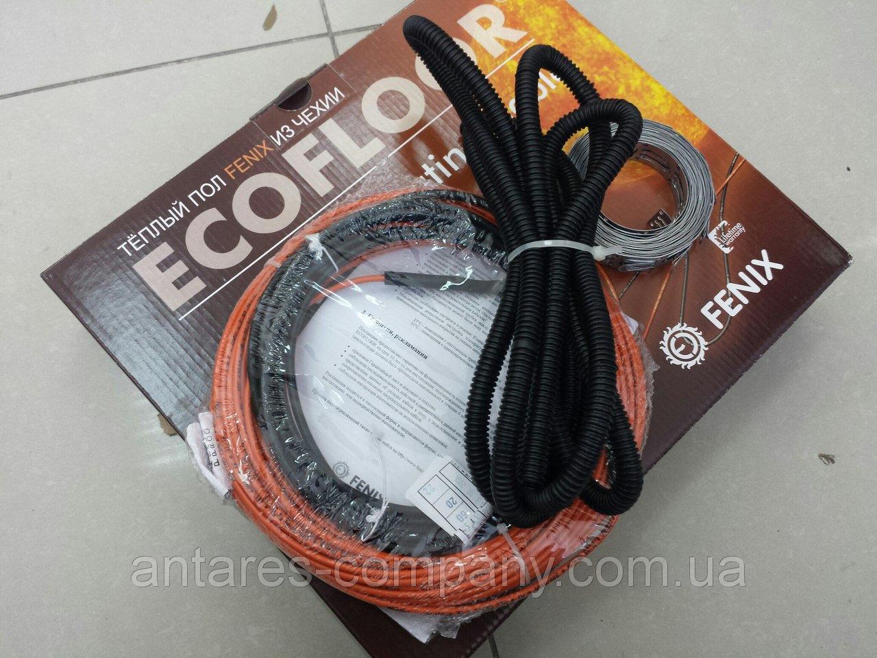 Двухжильный кабель теплого пола .обгрев (2.3 м.кв.)