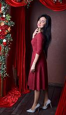 """Платье  """"Дженифер"""" из замшевой ткани, фото 3"""