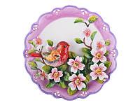 Декоративная тарелка Lefard Канарейка 20 см 59-172