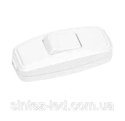 Выключатель для бра белый (Horoz) Код.55221
