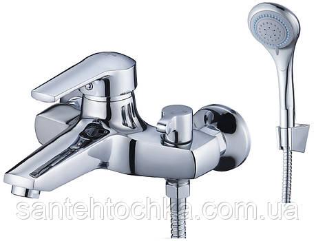 Смеситель для ванной Solone SITB3 с коротким изливом, фото 2