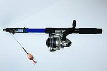 Удочка УНИВЕРСАЛЬНАЯ набор для начинающего рыбака.