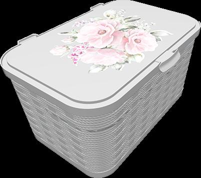 Ящик для хранения Q-Rope Dry Rose, 20л, фото 2