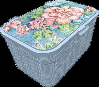 Ящик для хранения Q-Rope  Baroque Flowers, 20л