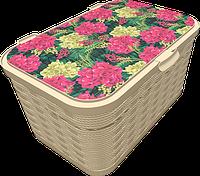 Ящик для хранения Q-Rope Hydrangea Flowers, 20л