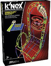 Набір для конструювання KNEX Американські гірки кільце Кобри
