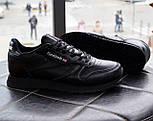 Мужские кроссовки Reebok Classic Black. Топ качество. Живое фото! (Реплика ААА+), фото 10
