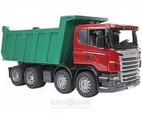 Игрушка Bruder Самосвал Scania R-series М1:16