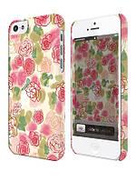 Чехол для iPhone 5/5s Цветы, Розы художника