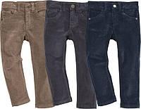 Вельветовые штаны для мальчика коричневые Lupilu Германия р.104