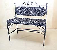 Кованый диван со спинкой 03., фото 1