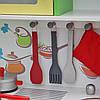 Дерев'яна кухня для дітей Wooden Toys Frogi + набір посуди, фото 3