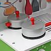 Дерев'яна кухня для дітей Wooden Toys Frogi + набір посуди, фото 5