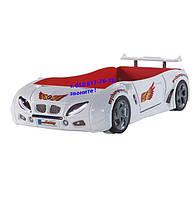 Кровать машина F1 белая (Турция)