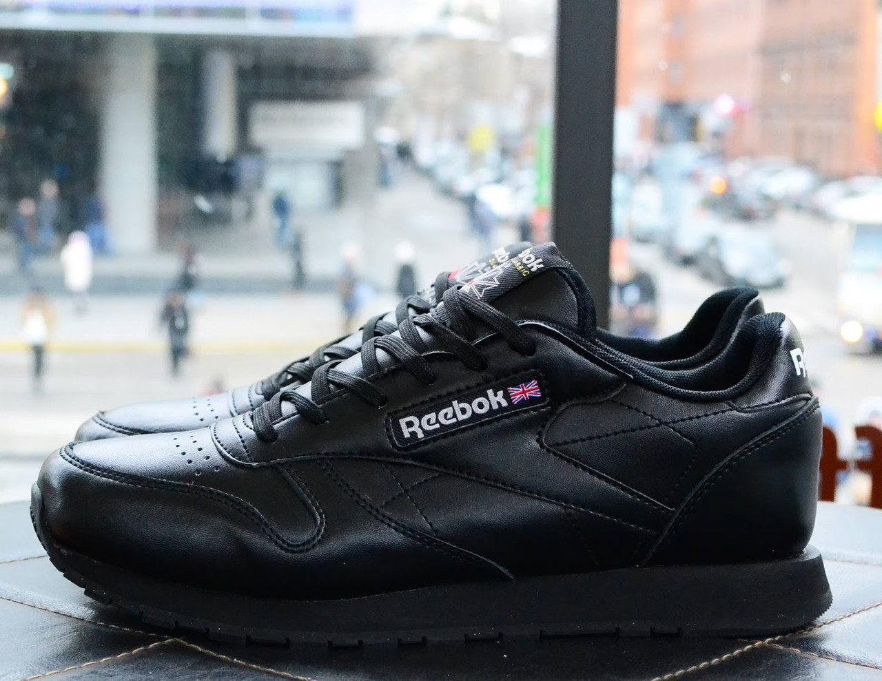 80b63af1 Кроссовки Reebok Classic Black. Топ качество. Живое фото! (Реплика ААА+)