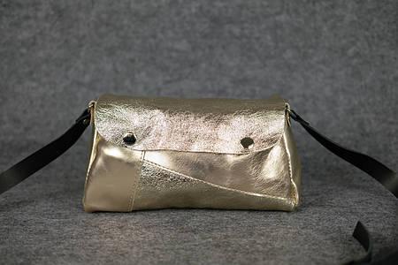 Сумочка «Фрэнки» | 31108 | Золото + золото флотар