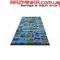 Детский коврик Кадры Мультфильмов 190х95см, толщина 8мм