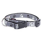Trixie TX-12223 ошейник для собак Silver Reflect Collar 35-55 cm/20 mm