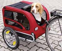 Trixie TX-12814 прицеп к велосипеду для собак до 30кг