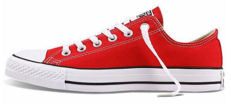 Converse All Star Low Red   кеды женские и мужские  красные  конверс - BOOT 67b99113d5b