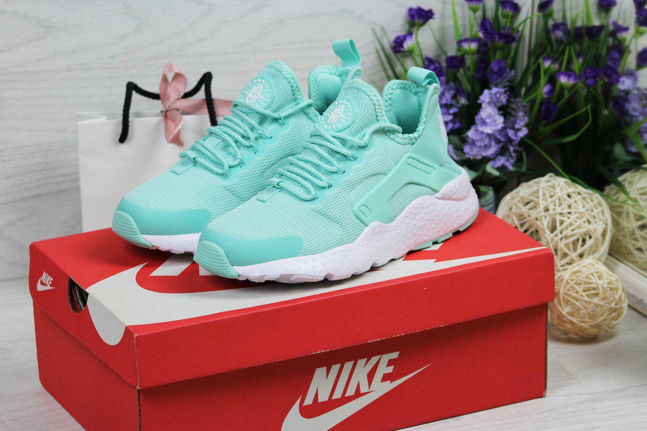Женские кроссовки Nike Huarache (мятные), ТОП-реплика