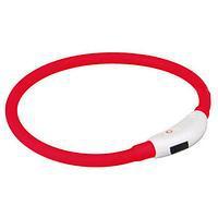 Trixie  ТХ-12660 USB Flash Light Ring-ошейник светящийся для собак 35 см