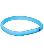 Trixie TX-12682 USB Flash Light Band-ошейник светящийся для собак 70 см / 18  мм