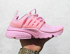 Кроссовки женские Nike Air Presto Br Women All Pink топ реплика, фото 3