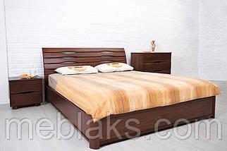 """Кровать деревянная """"Мария"""" без подъемного механизма (серия Мария)  Микс Мебель, фото 3"""
