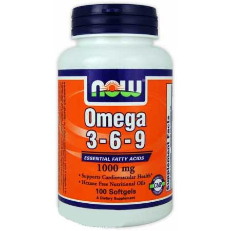 Омега 3-6-9 / Omega 3-6-9 / 100 мягких желатиновых капсул