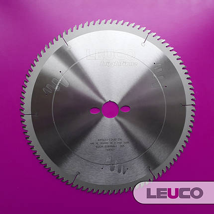 300x3,2x2,2x30 Z=96 Чистовые торцовочные дисковые пилы Leuco, фото 2