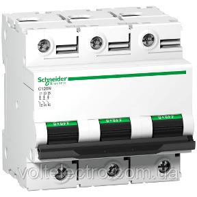 Автоматичний вимикач C120N C 80A 3P