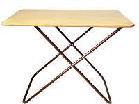 Мобильный деревянный стол