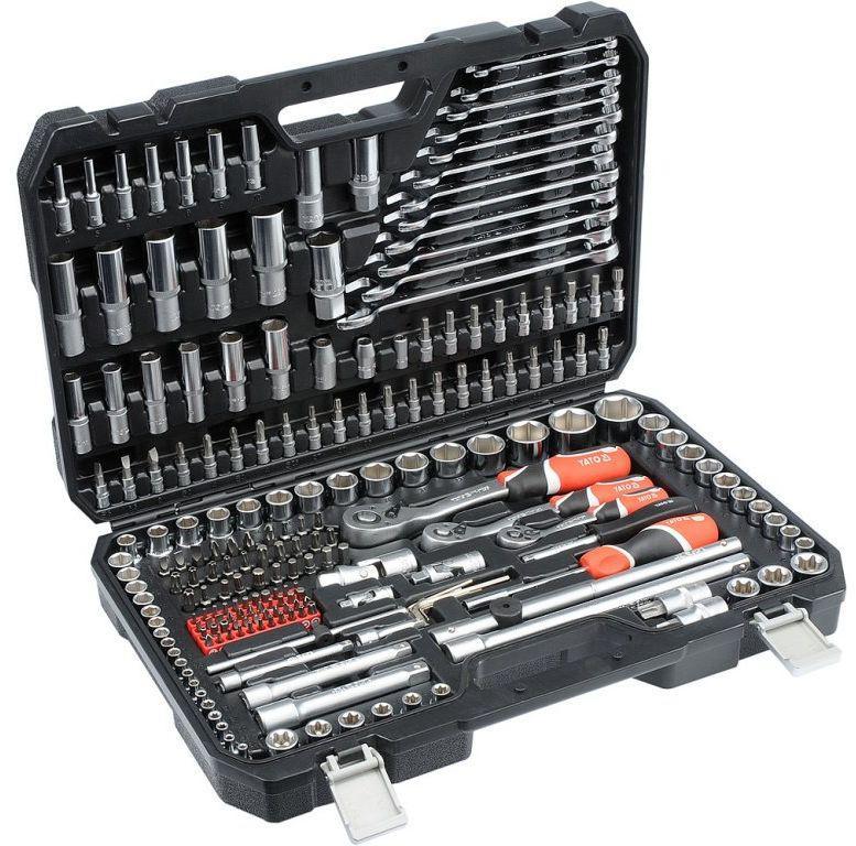 Профессиональный набор инструментов Yato YT-38841 216 предметов (набір ручного інструменту)