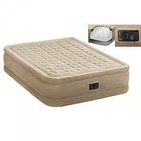 Велюр Кровать Intex 152-203-46 См. Со Встроенным Насосом 220 В. Ps