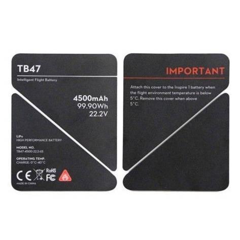 Наклейки DJI Inspire 1 TB47 Battery Insulation Sticker, фото 2