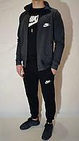 Мужской спортивный костюм Nike (Найк) | трикотаж, двухнитка, размеры: 44-54, разные цвета 44