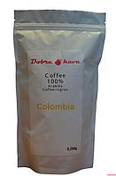 Кофе в зерне Dobra Kava Colombia ( 250 грамм)