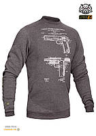 Свитшот зимний  WS- COLT1911 (Winter Sweatshirt Colt 1911 Pistol Legend)