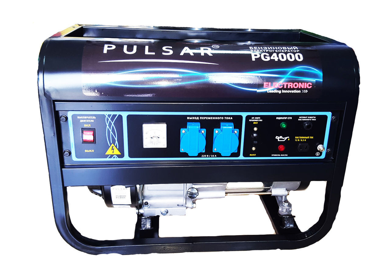 Бензогенератор Pulsar PG-4000E