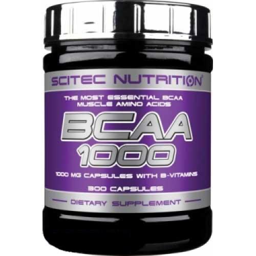 BCAA 1000 / ВСАА 1000   300 капсул