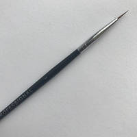 Кисть для росписи ногтей  Kodi №1 (нейлон, деревянная черная ручка)