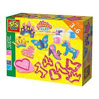 Набор для творчества SES незасыхающая масса для лепки Принцессы 4 цвета (00447S)