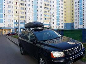 Автомобильный бокс Terra Drive 480 серый двухсторонний, фото 3
