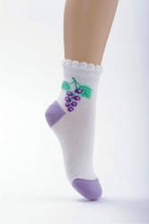 Носки ажурные белые
